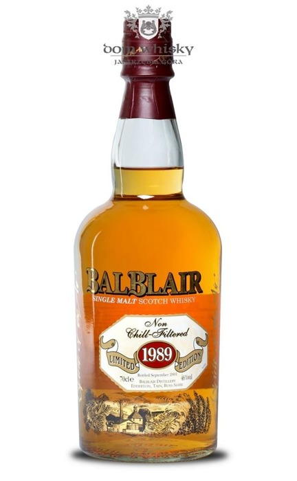 Balblair 1989 (Bottled 2001) Limited Edition / 46% / 0,7l