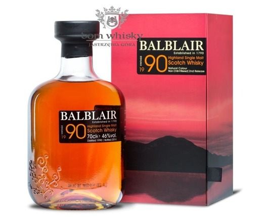 Balblair 1990 (Bottled 2014) 2nd Release / 46% / 0,7l