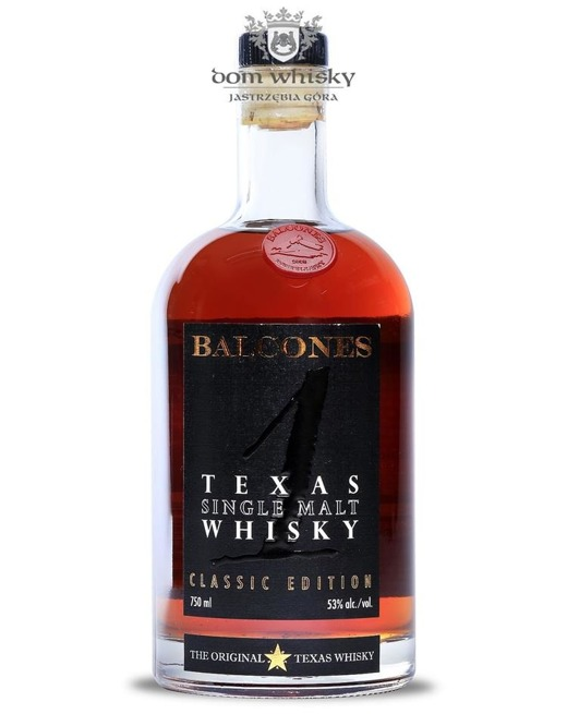 Balcones Texas Single Malt, Classic Edition / 53%/ 0,75l