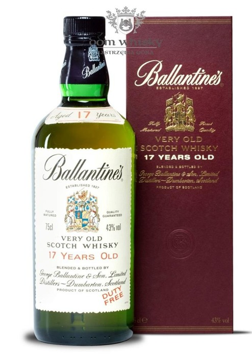 Ballantine's 17-letni (Bottled 1990s/2000s) / 43%/ 0,75l