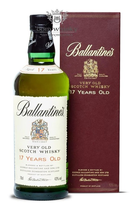 Ballantine's 17 letni Old Label / 43% / 0,7l