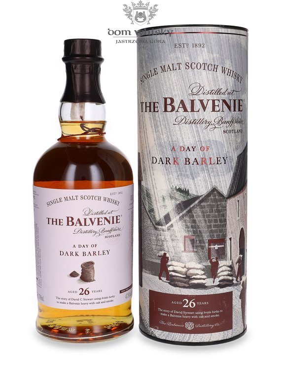Balvenie 26-letni A Day Of Dark Barley # 6852 / 47,8%/ 0,7l