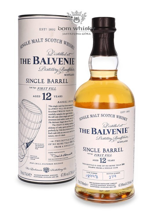 Balvenie Single Barrel First Fill, 12-letni #18998 / 47,8% / 0,7l