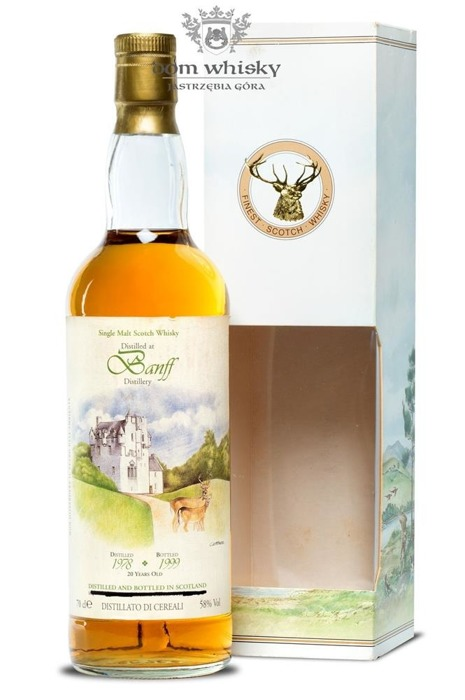Banff 20-letni(D.1978, B.1999)The Vintage Malt Whisky/ 58% /0,7l