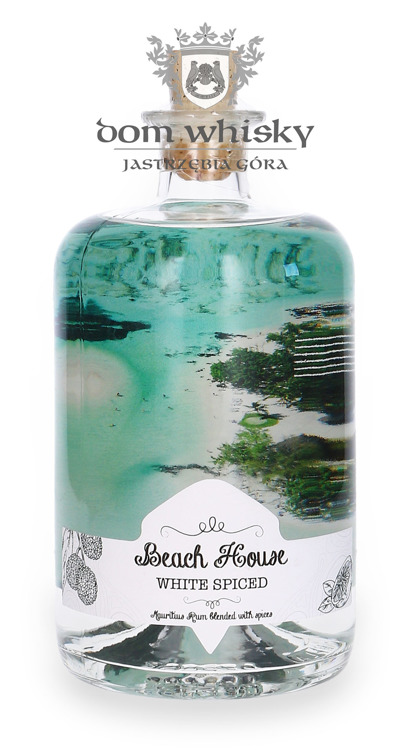 Beach House White Spiced Rum of Mauritius Limited Edition / 40% / 0,7l