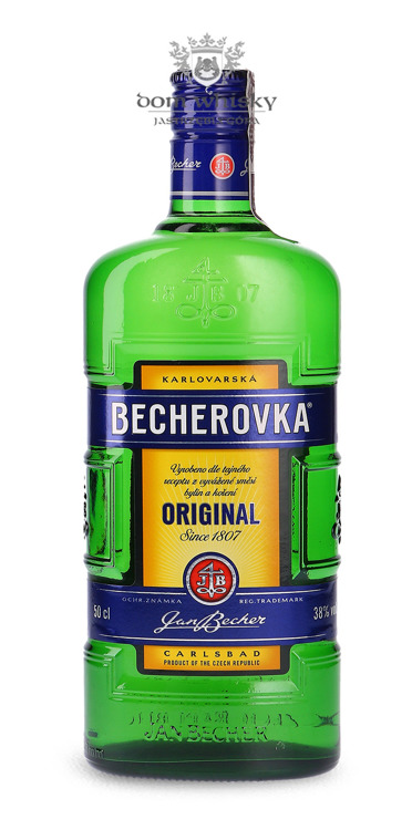 Becherovka Original (Czechy) / 38% / 0,5l