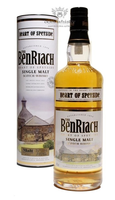 BenRiach Heart of Speyside / 40% / 0,7l