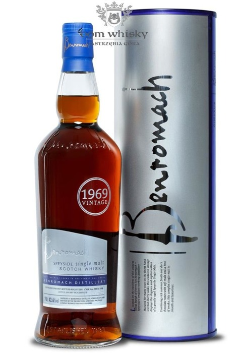 Benromach 1969 (Bottled 2011) / 42,6% / 0,7l