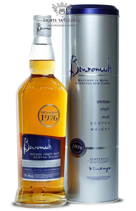 Benromach 1976 (Bottled 2012) / 46% / 0,7l