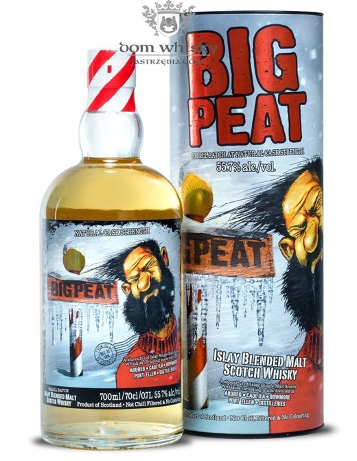 Big Peat Christmas Edition 2014 Cask Strenght / 55,7% / 0,7l