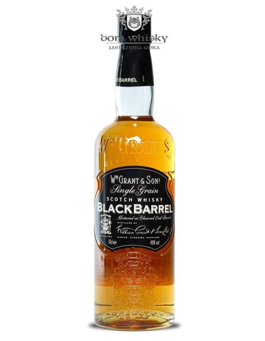 Black Barrel Single Grain / 40%/ 0,7l