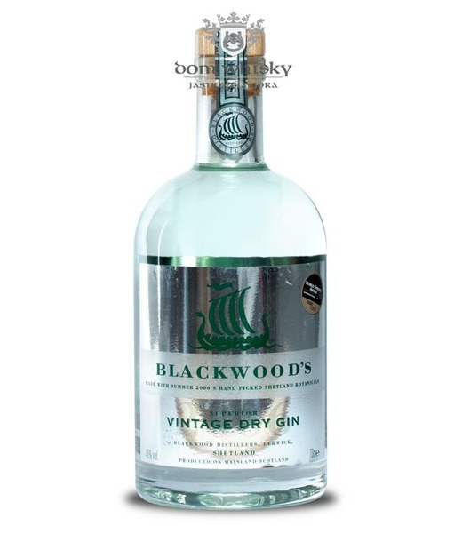 Blackwoods Vintage Dry Gin Summer 2006 (Szkocja) / 40% / 0,7l