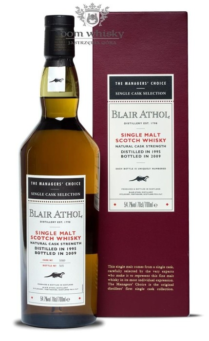 Blair Athol 1995 (B. 2009), The Manager's Choice / 54,7% /0,7l