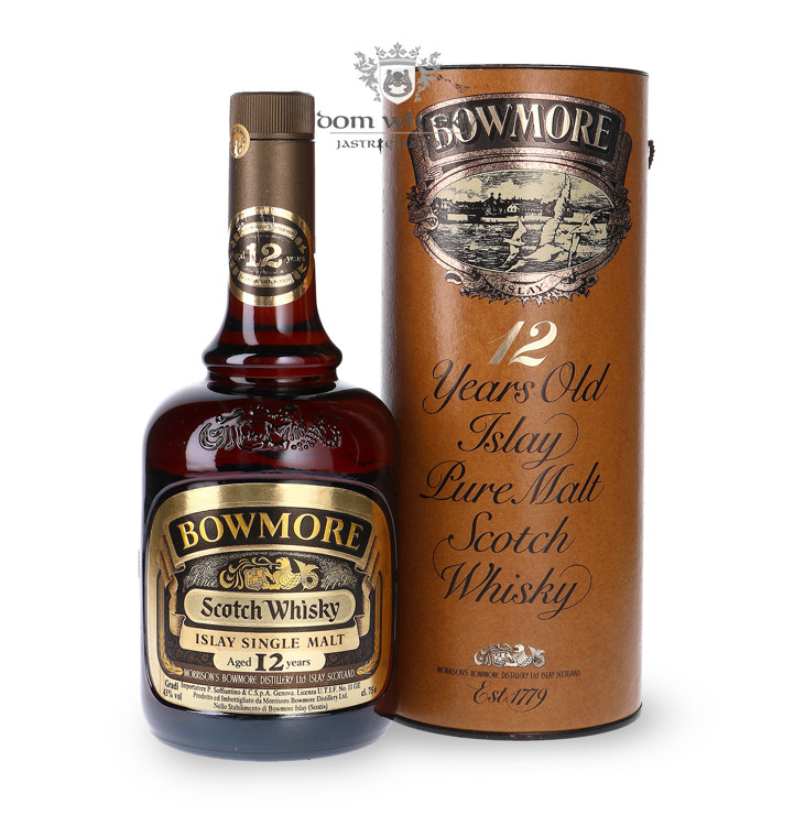 Bowmore 12-letni (Bottled late 1970s) / 43%/ 0,75l