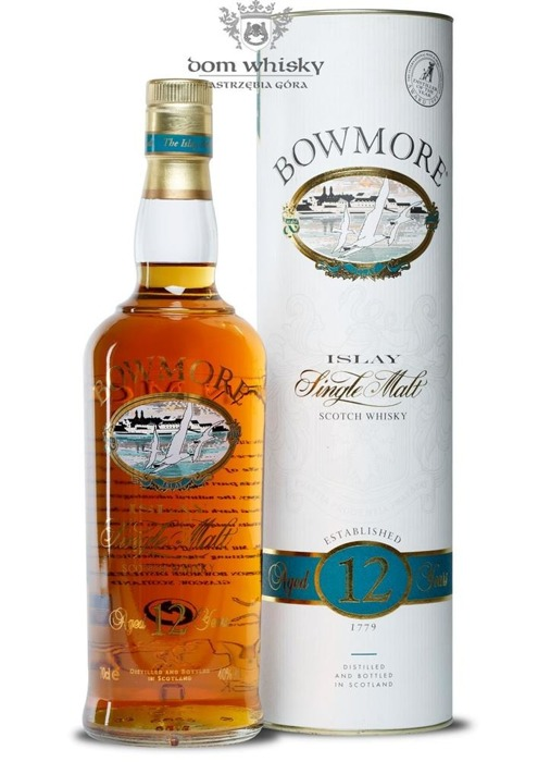 Bowmore 12-letni (Screen Printed Label) / 40% / 0,7l