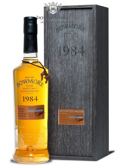 Bowmore 1984 Bourbon Cask, 28-letni (Bottled 2013) / 48,7% / 0,7