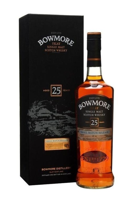 Bowmore 25-letni Small Batch Release / 43% / 0,7l