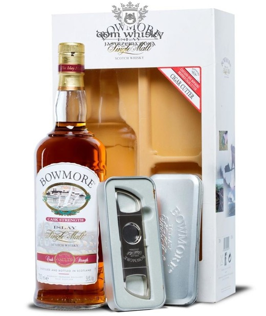 Bowmore Cask Strength (with Cigar Cutter) / 56% / 0,7l