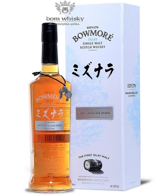 Bowmore Mizunara Cask Finish / 53,9% / 0,7l