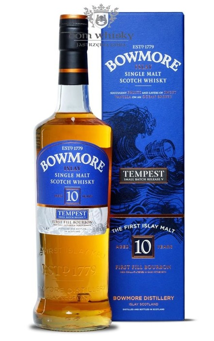 Bowmore Tempest, 10-letni (Batch No. 5) / 55,9% / 0,7l