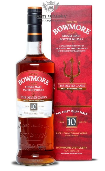 Bowmore The Devil's Casks, 10-letni (Batch No. 2) / 56,3% / 0,7l