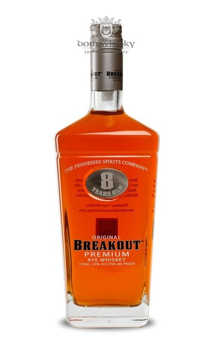 Breakout Premium Rye Tennessee Whiskey / 43% / 0,75l