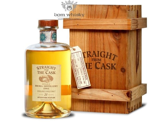 Brora 21-letnia(D.1981, B.2002)Straight From the Cask/59,2%/0,5
