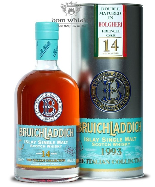 Bruichladdich 14 letni 1993 Bolgheri French Oak / It /46%/0,7l