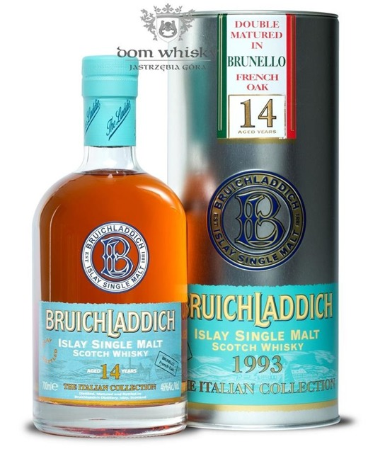 Bruichladdich 14 letni 1993 Brunello French Oak / It /46%/0,7l