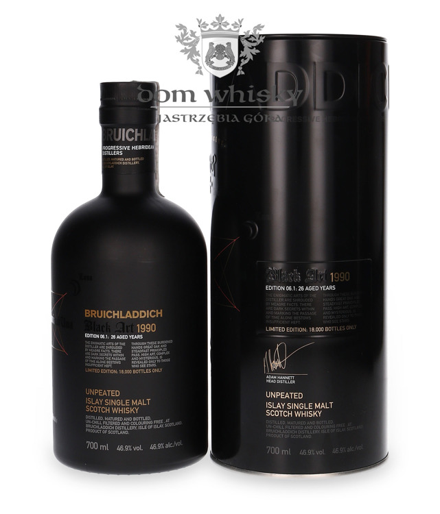 Bruichladdich Black Art 1990, 26-letni, Edition 06.1/46,9%/0,7l