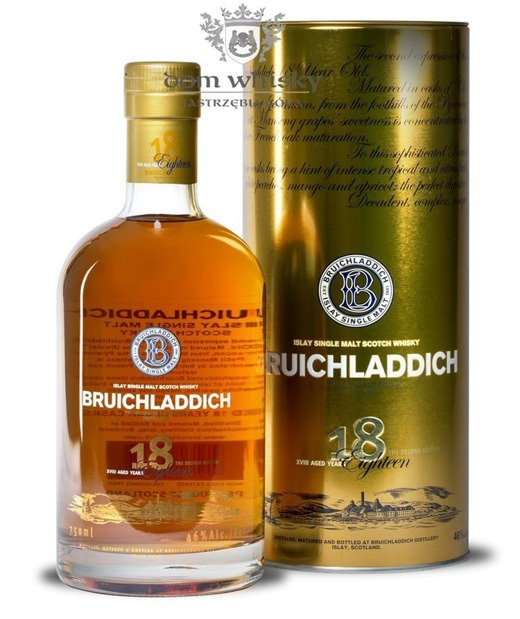 Bruichladdich Eighteen (18-letni), 2nd Edition / 46% / 0,75l