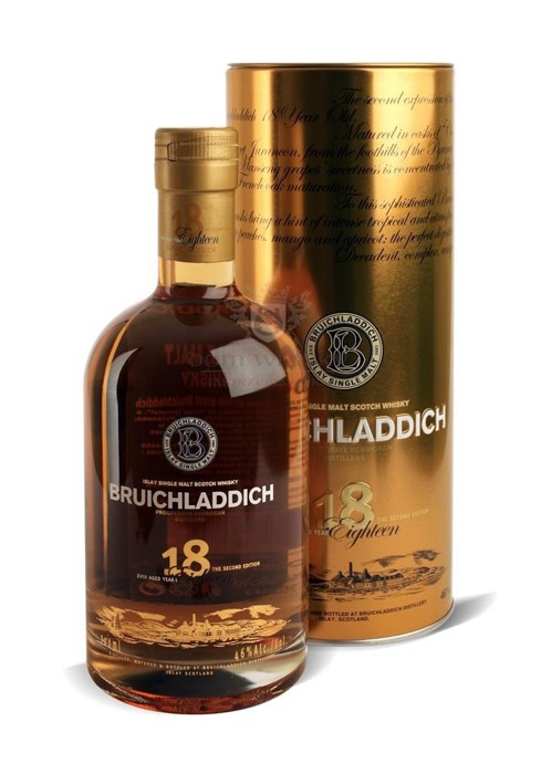 Bruichladdich Eighteen (18-letni), 2nd Edition / 46% / 0,7l
