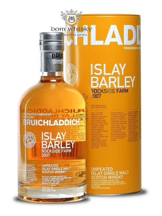 Bruichladdich Islay Barley (Rockside Farm 2007) / 50% / 0,7l