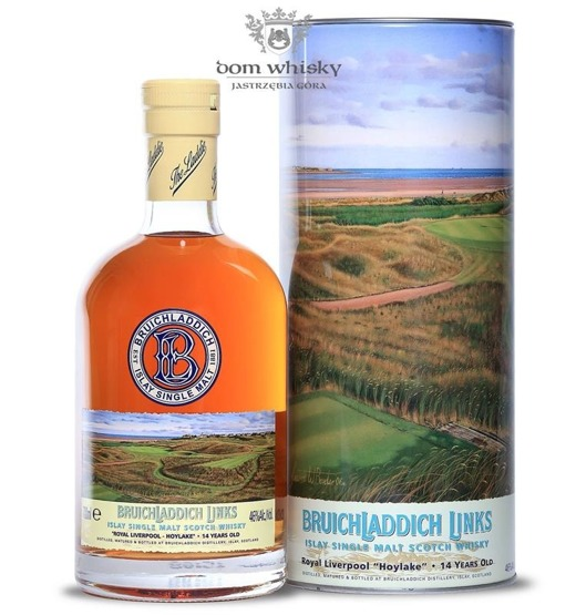 Bruichladdich Links Royal Liverpool-Hoylake, 14-letni / 46%/ 0,7