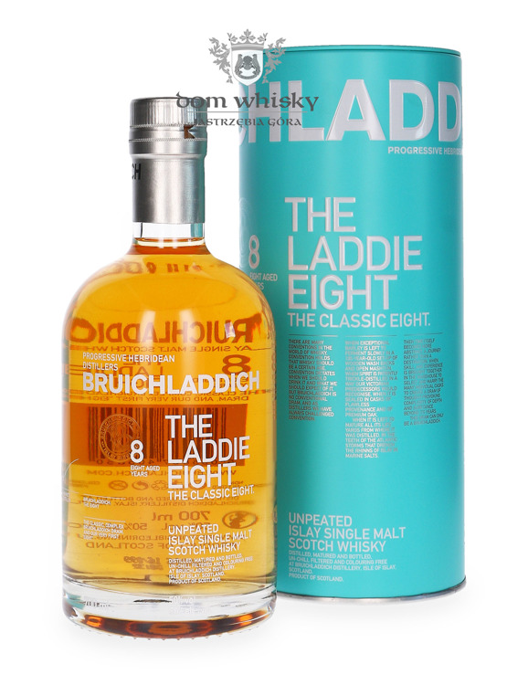 Bruichladdich The Laddie Eight, 8-letni  / 50% / 0,7l