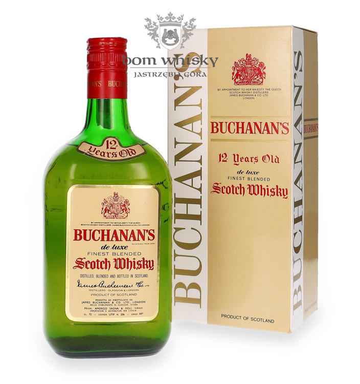 Buchanan's 12 letni Blended Whisky Review / 40% / 0,75l