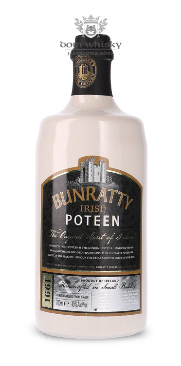Bunratty Irish Potcheen The Original / 40% / 0,7l