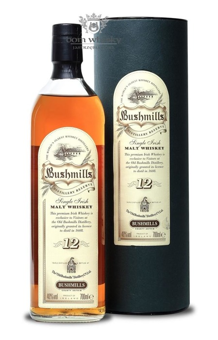 Bushmills 12 letni Single Irish Malt Distillery Reserve / 40% / 0,7l