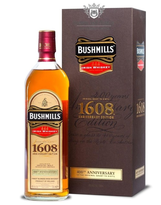 Bushmills 1608, 400th Anniversary Edition / 46%/ 0,75l