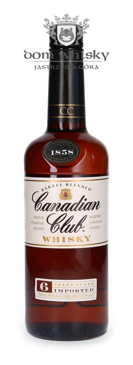 Canadian Club 6-letni Canadian Whisky / 40% / 0,75l
