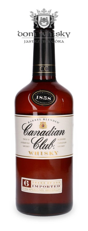 Canadian Club 6-letni Canadian Whisky / 40% / 1,0l