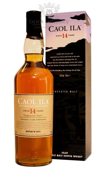 Caol Ila 14-letnia Unpeated, Cask Strength(B.2012)/59,3%/0,7l