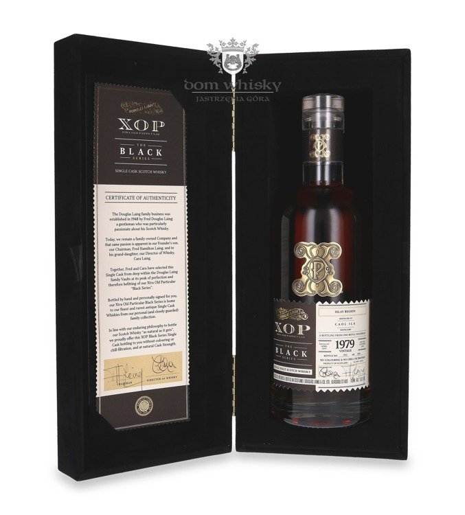 Caol Ila 1979 (Bottled 2019) Douglas Laing's XOP The Black Series / 51,2%/ 0,7l