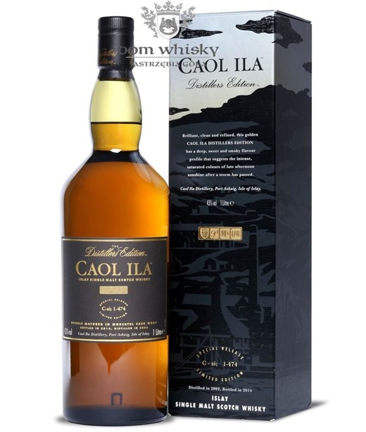 Caol Ila 2002 (B.2014) Distillers Edition, Moscatel Finish / 43% / 1,0l