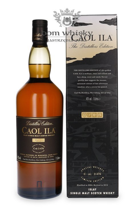 Caol Ila 2004 Distillers Edition (Bottled 2016) /43%/ 1,0l