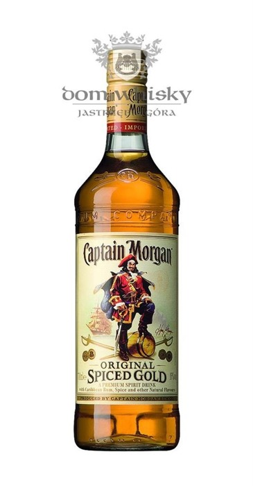 Captain Morgan Oryginal Spiced Gold / 35% / 0,7l