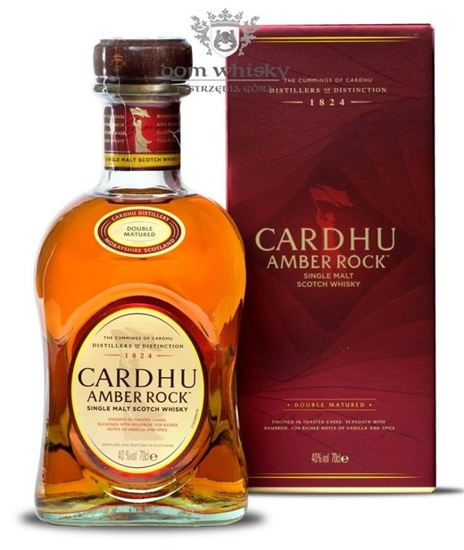 Cardhu Amber Rock Double Matured / 40% / 0,7l