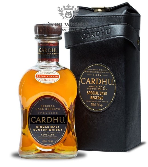 Cardhu Special Cask Reserve(Cs⁄cR.12.14 with Leather )/40%/0,7l