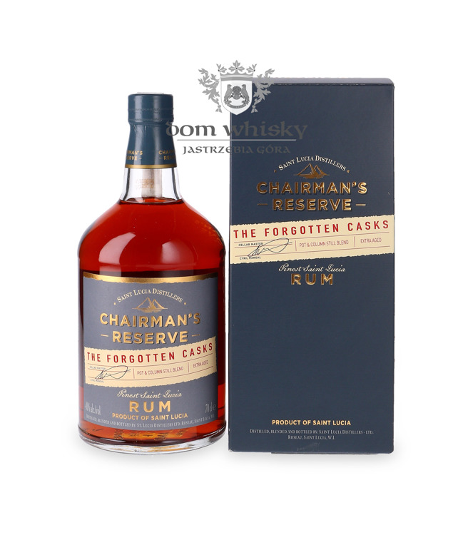 Chairman's Reserve The Forgotten Cask Rum / 40% / 0,7l