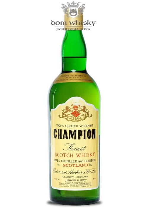 Champion Finest Scotch Whisky / 40% / 0,7l